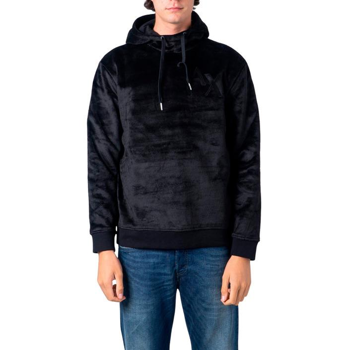 Armani Exchange Men's Sweatshirt Black 183113 - black XS