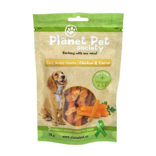 Planet Pet 2in1 Kyckling & Morot