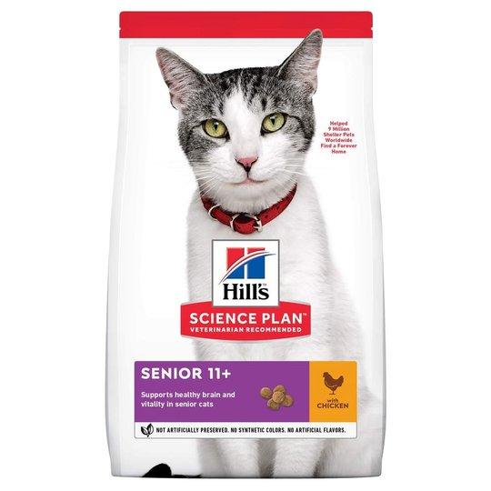 Hill's Science Plan Cat Senior 11+ Chicken (3 kg)