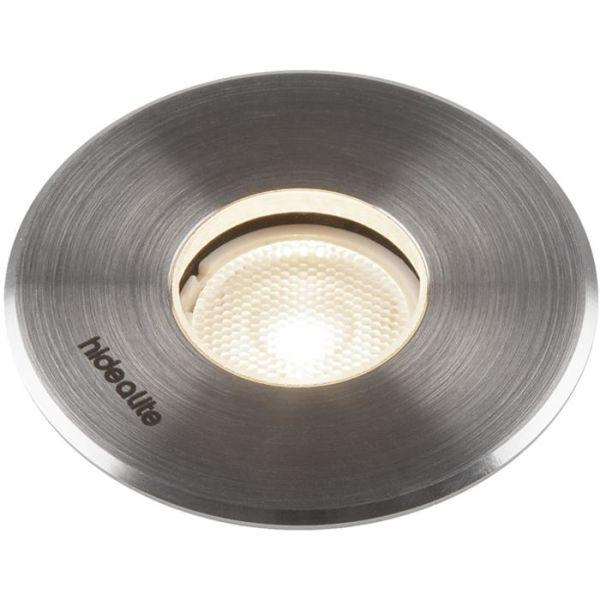 Hide-a-Lite Spot Up Multi 3 Bakkestrålekaster rustfritt stål, 3000 K