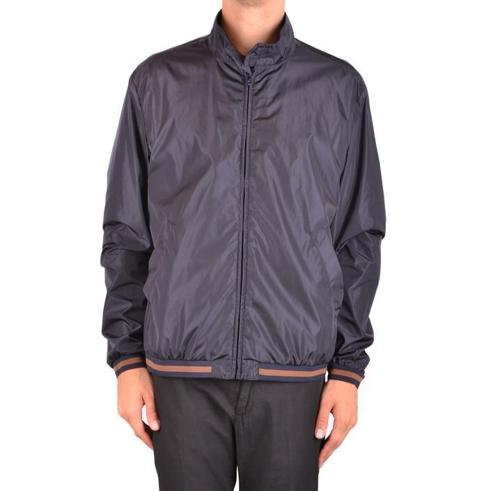 Fay Men's Jacket Blue 163806 - blue XXL