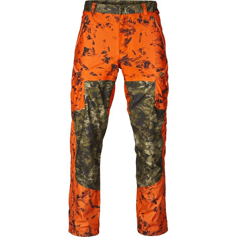Seeland Vantage bukse 56 InVis green/InVis orange blaze