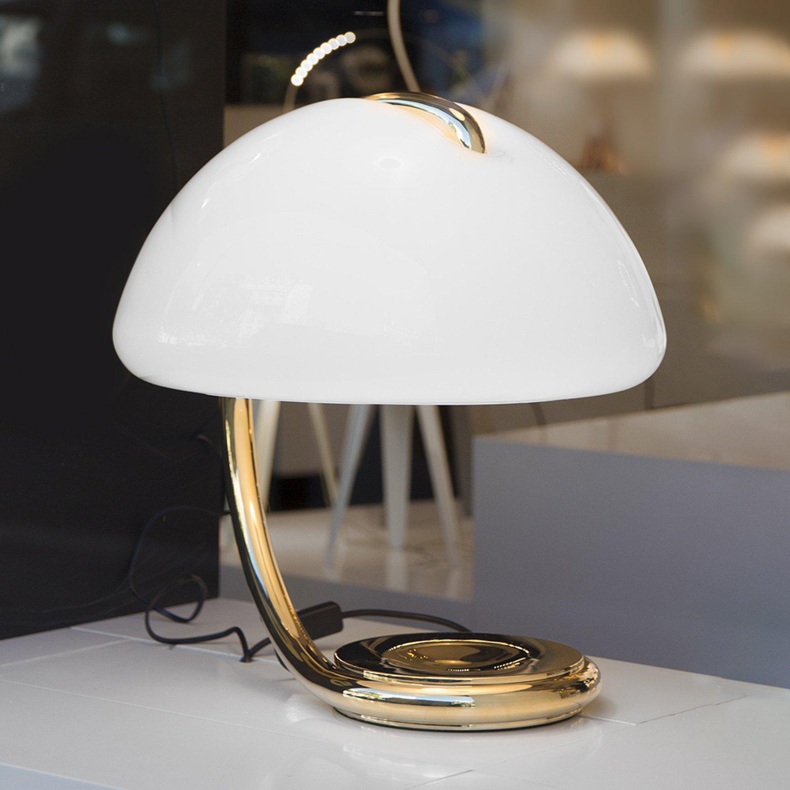 Martinelli Luce Serpente - bordlampe, gull
