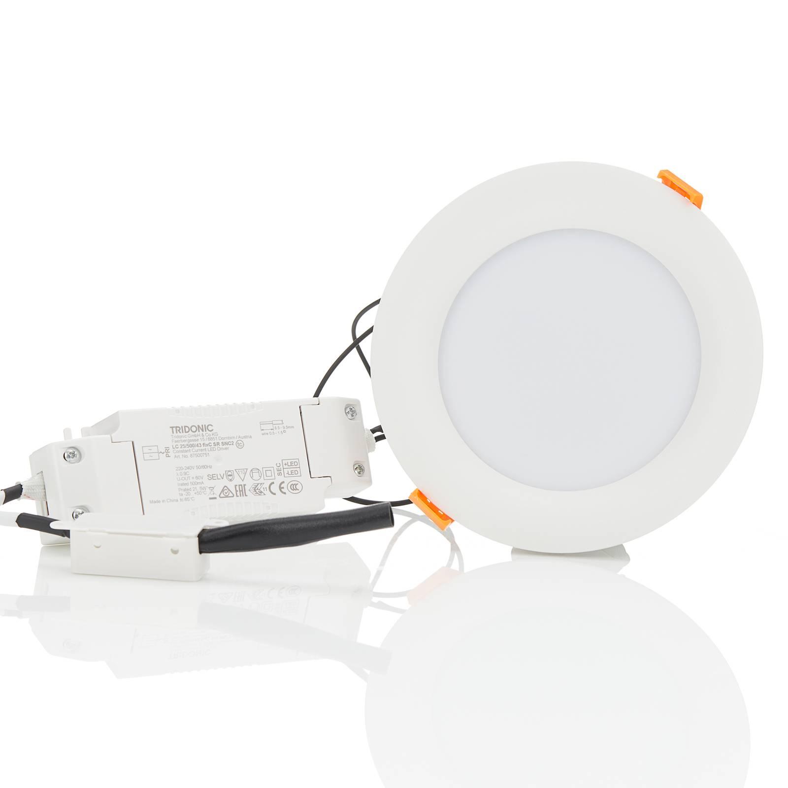 Arcchio Xavian -LED-uppovalo 4 000 K 14,2 cm