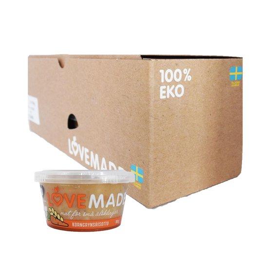 Laatikollinen Lastenruokaa, Ohrarisotto 6 x 180g - 27% alennus
