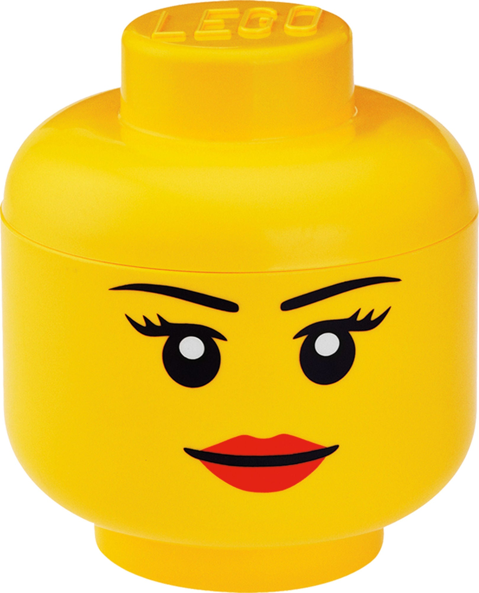 LEGO Säilytyslaatikko L Tyttö, Keltainen