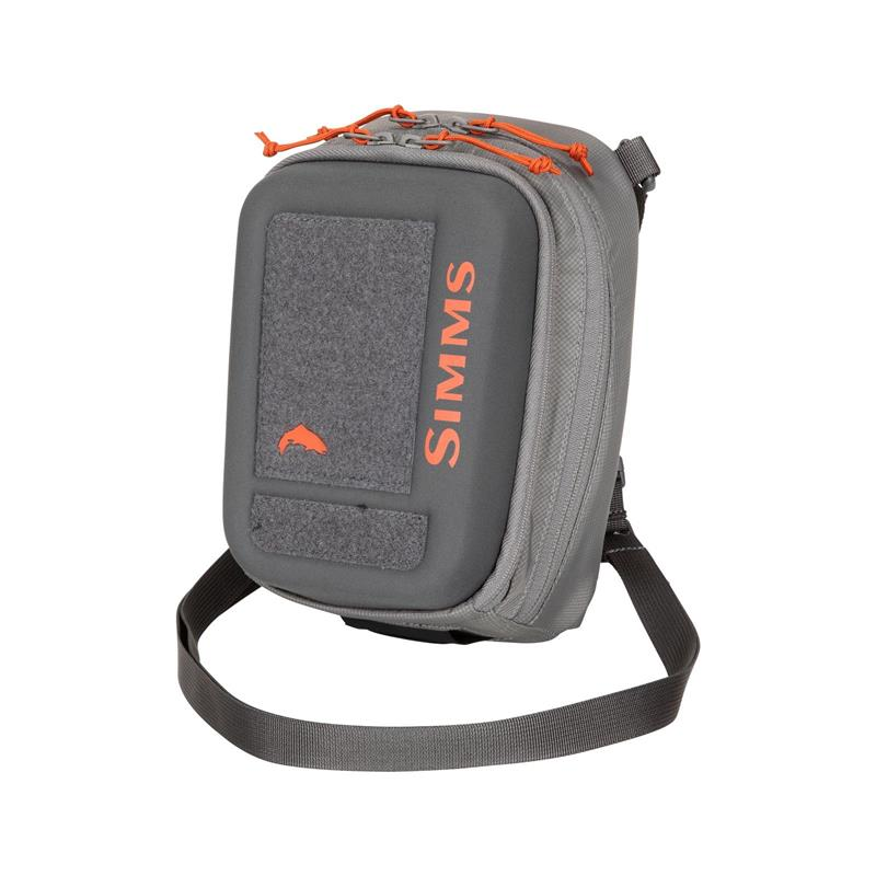 Simms Freestone Chest Pack Steel Pewter 3L