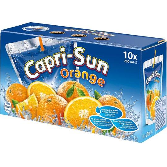 Capri-Sun Apelsin 10 x 200ml - 36% rabatt