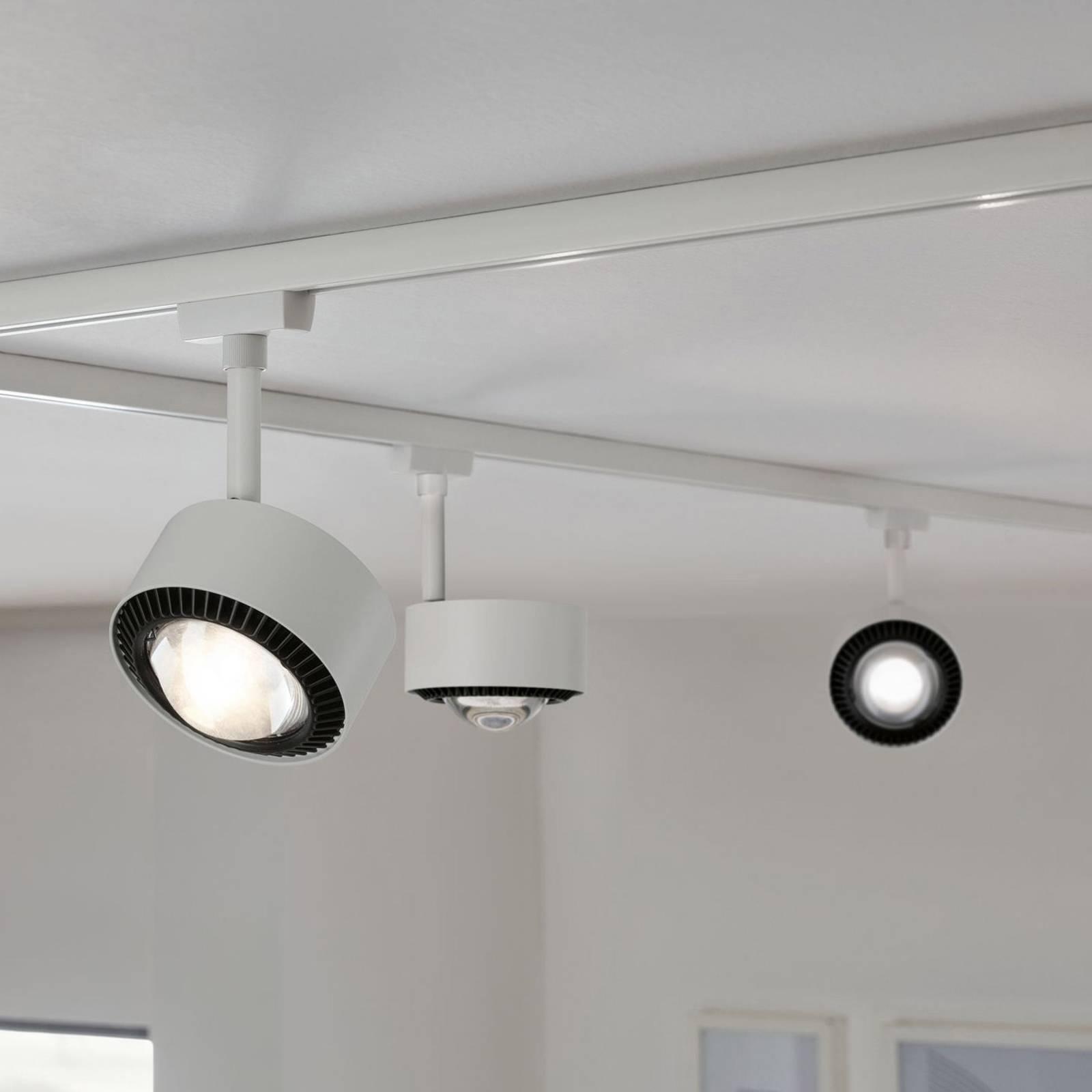 Paulmann Aldan URail -LED-spotti valkoinen/musta