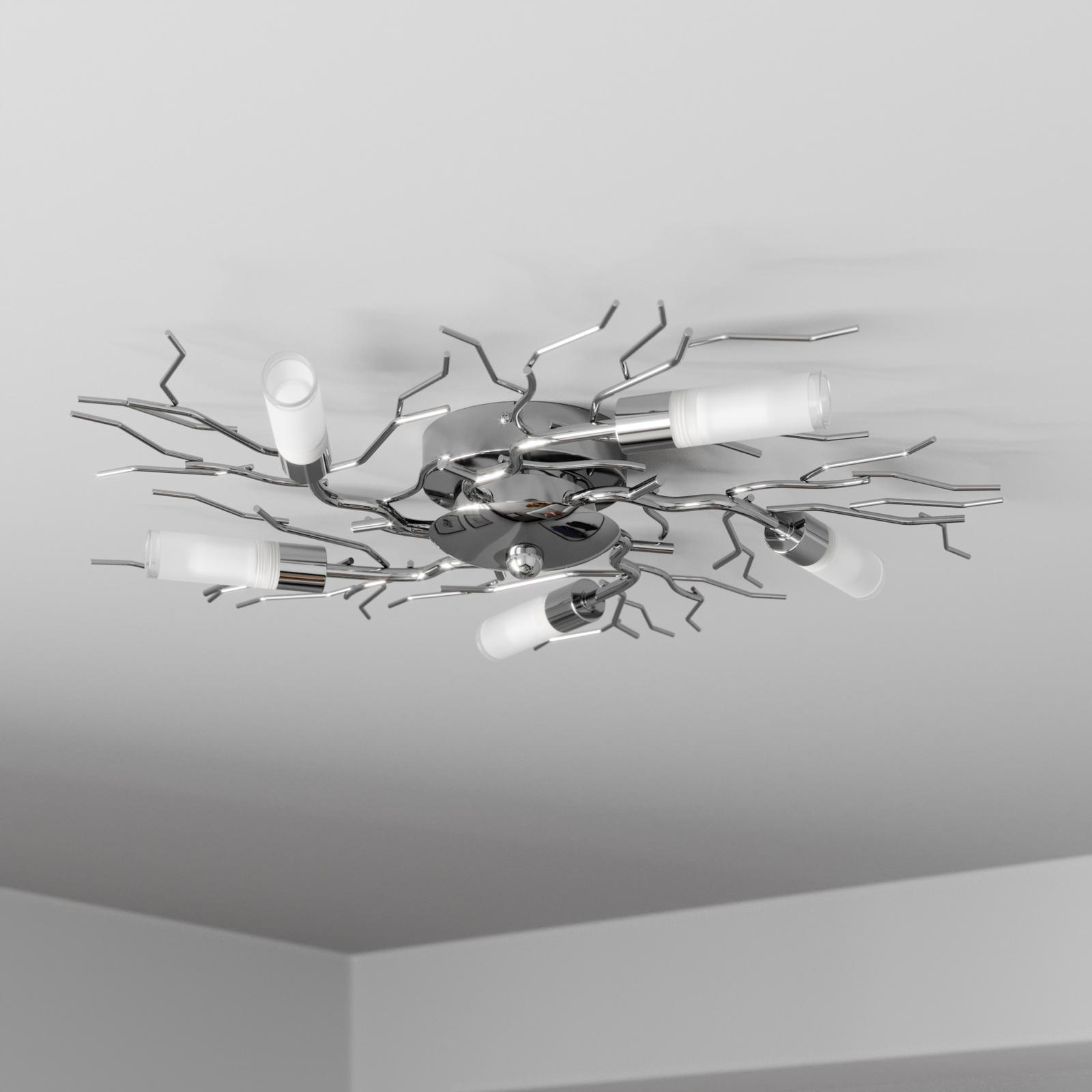 Oksamainen LED-kattovalaisin Felicity