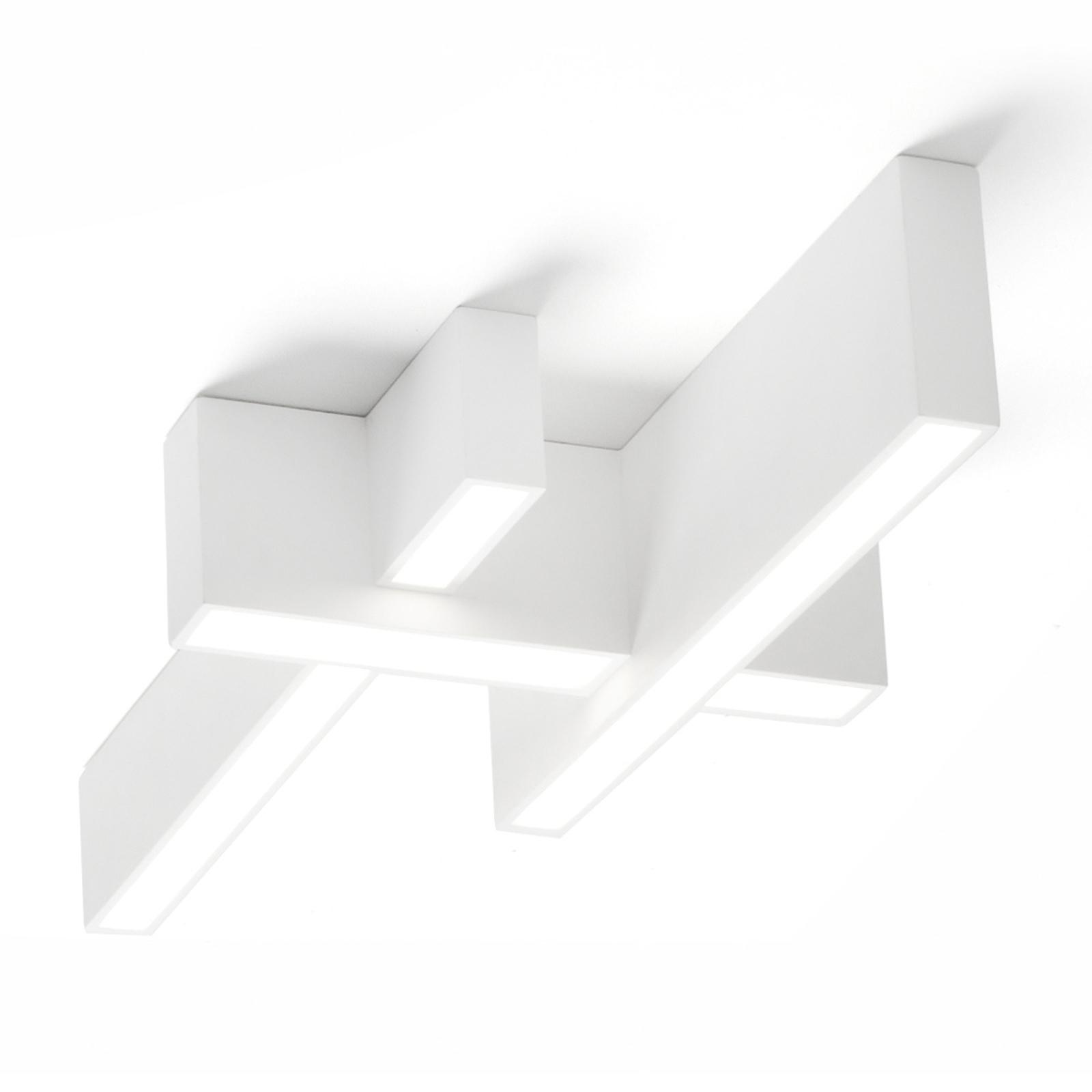LED-kattovalaisin Magnesia T275, jossa 3 palkkia