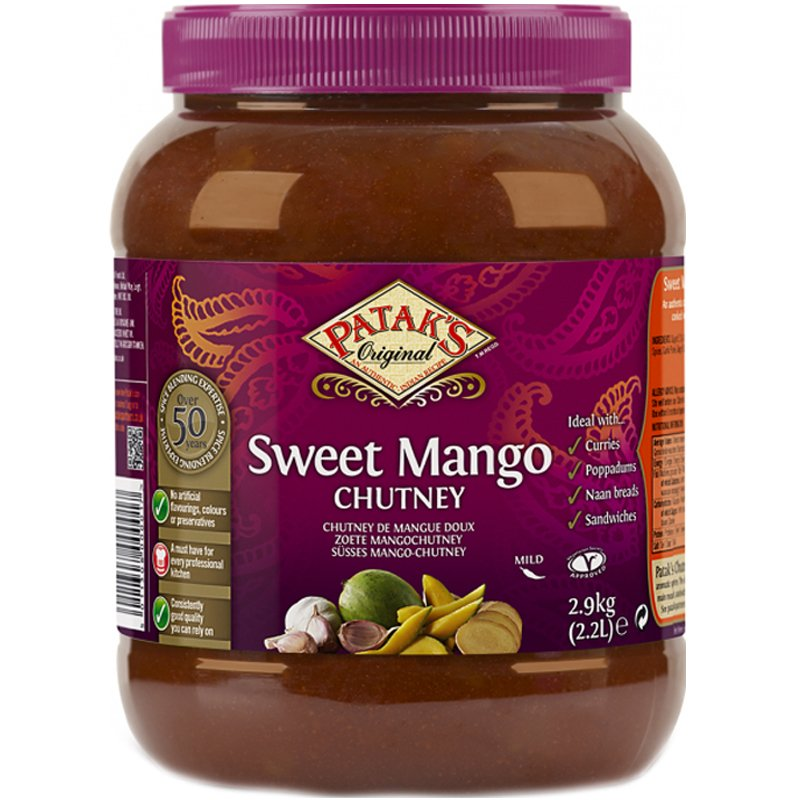 "Mango Chutney ""Sweet"" 2,9kg - 67% alennus"