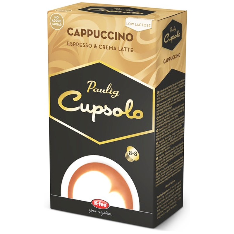 Kaffekapslar Cappuccino - 28% rabatt