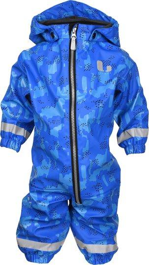 Lindberg Duveke Baby Regndress, Blue 74