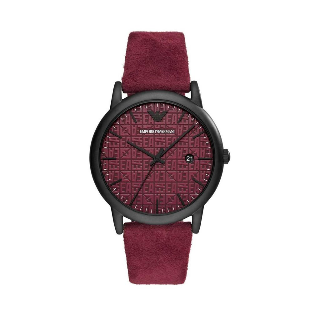 Emporio Armani Men's Watch Various Colours AR1127 - red NOSIZE