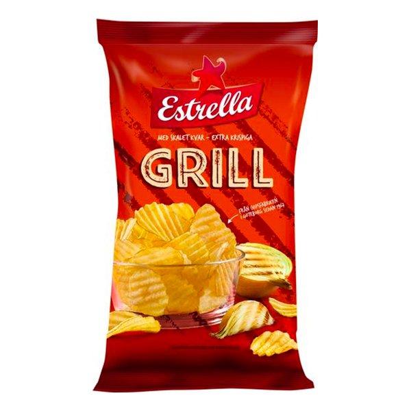 Estrella Grill Chips - 40 gram