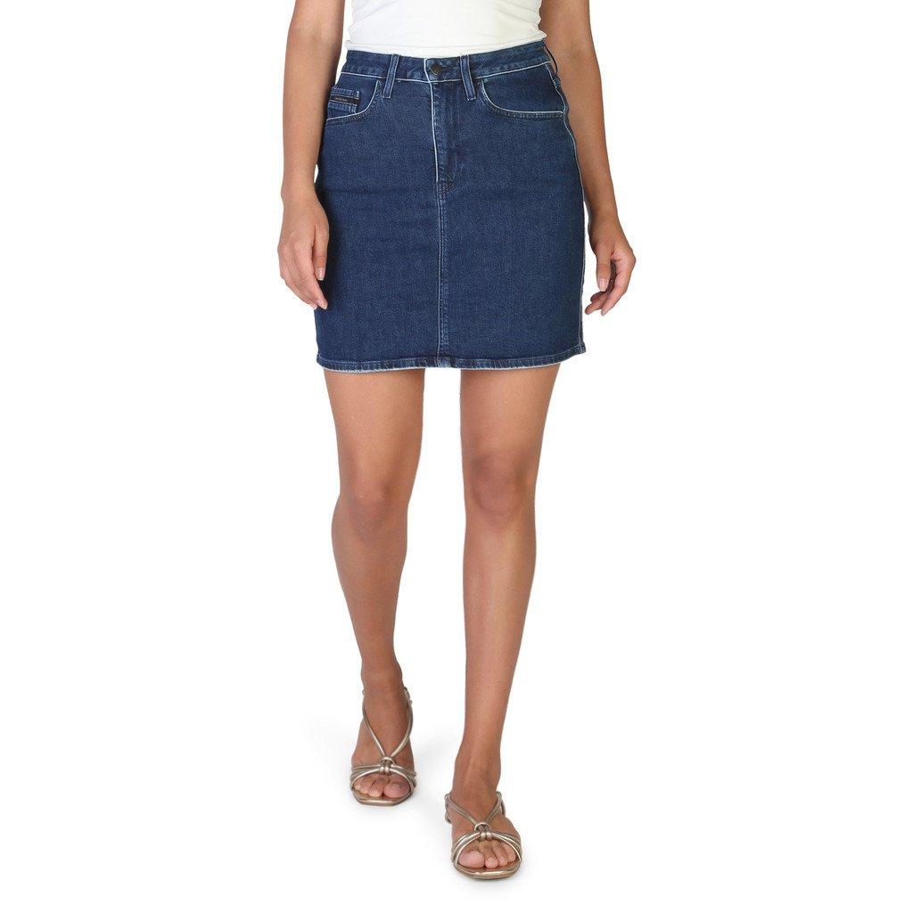 Calvin Klein Women's Skirt Blue J20J206153 - blue 26