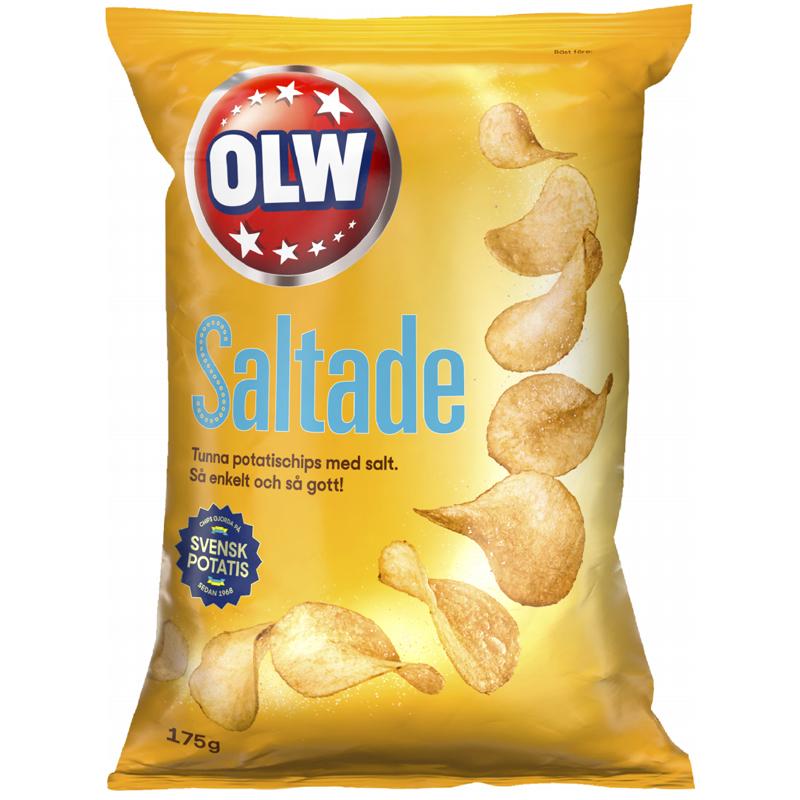 Chips Lättsaltade - 15% rabatt