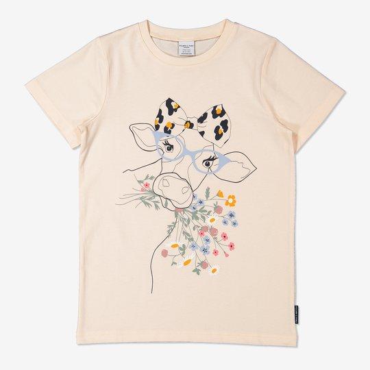 T-skjorte med trykk off-white