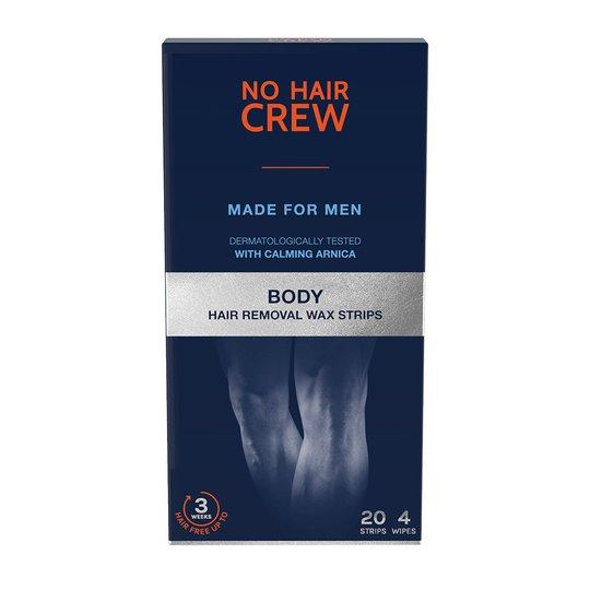 Body Hair Removal Wax Strips, No Hair Crew Vaha