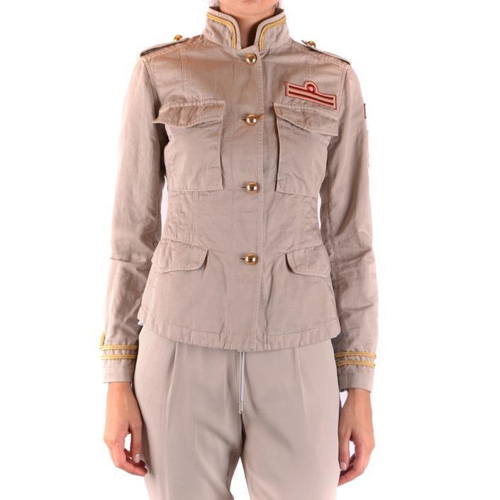 Fay Women's Blazer Beige 163903 - beige S