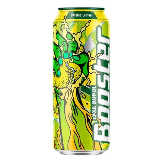 Booster Lemon Energy Drink - 1-pack