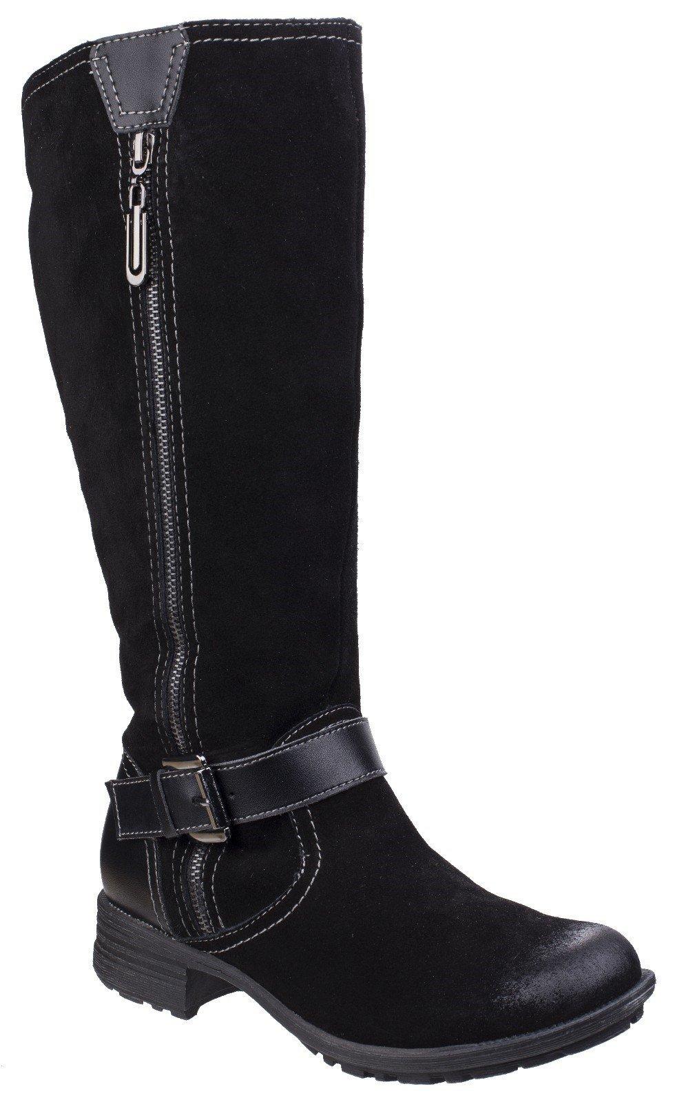 Fleet & Foster Women's Tokyo Long Boot Black 25556-42524 - Black 3