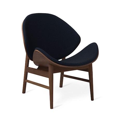The Orange Lounge Chair Midnight Blue Smoked Ek