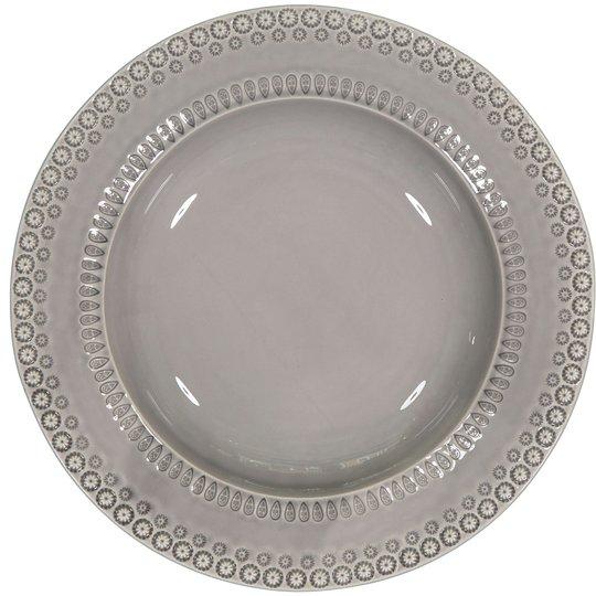 PotteryJo Daisy Pastatallrik 35 cm Soft Grey