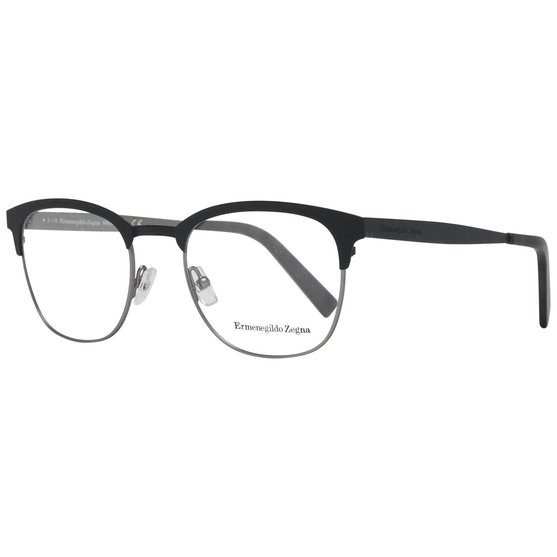 Ermenegildo Zegna Men's Optical Frames Eyewear Black EZ5099 50002
