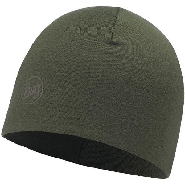 Buff Merino Wool Thermal Lue grønn