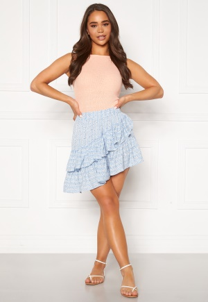 ONLY Addie Short Skirt Cashmere Blue 38