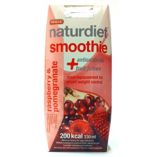 Naturdiet smoothie hallon & granatäpple - 58% rabatt