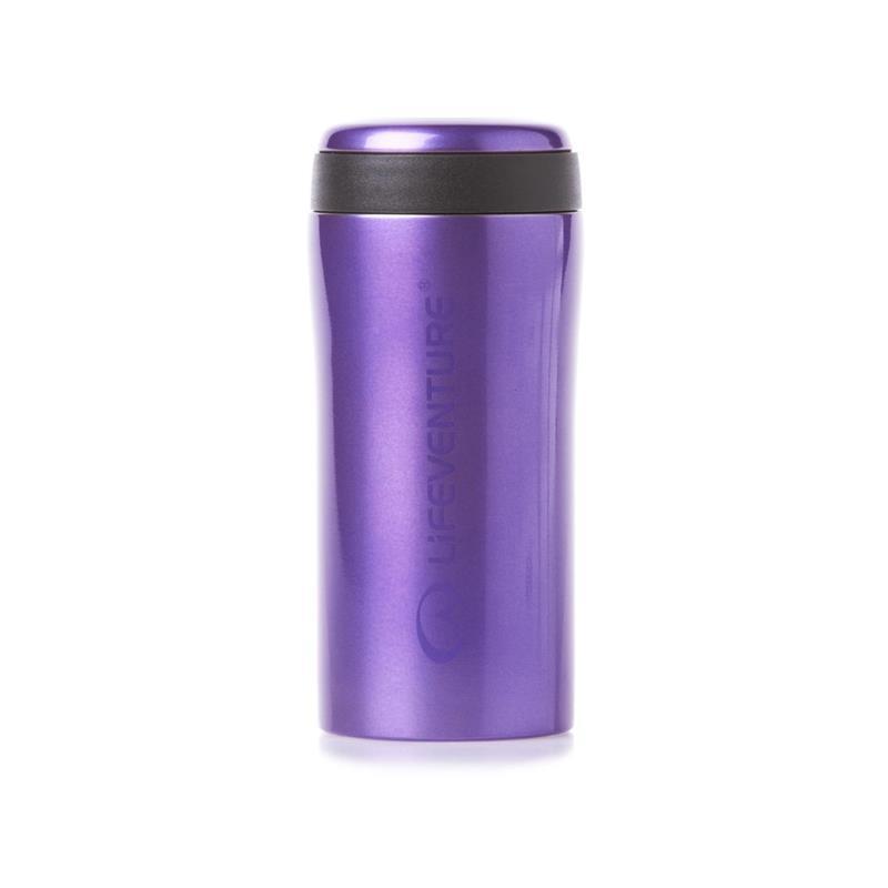 Lifeventure Thermal Mug - Purple Holder på varmen i opptil 4 timer!