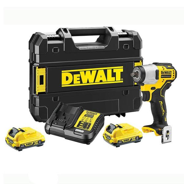 Dewalt DCF902D2K-QW Muttertrekker med batterier, lader og