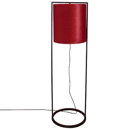 Vieste Golvlampa Röd 131cm