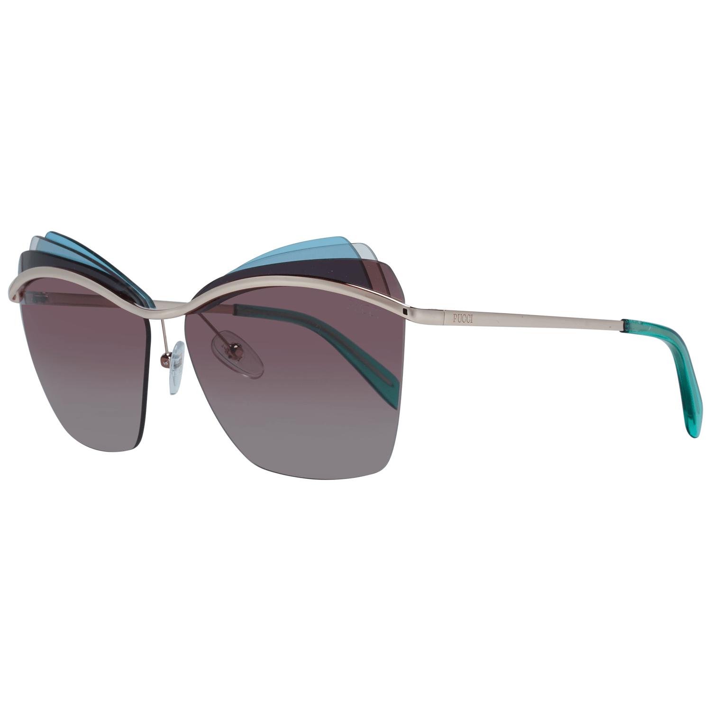 Emilio Pucci Women's Sunglasses Gold EP0113 6128F