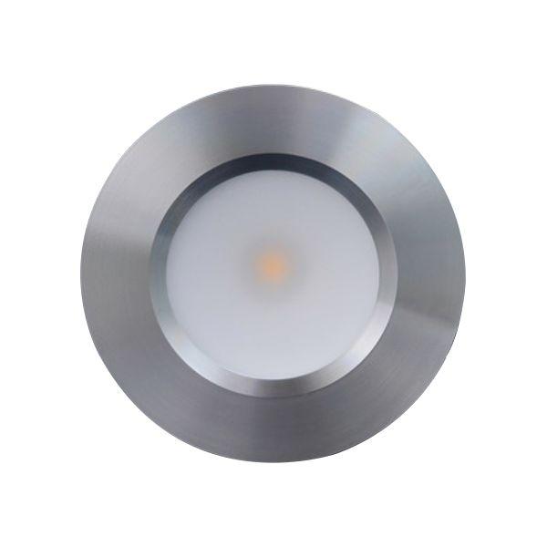 Designlight Q-31A Downlight-valaisin alumiinia, 3000 K