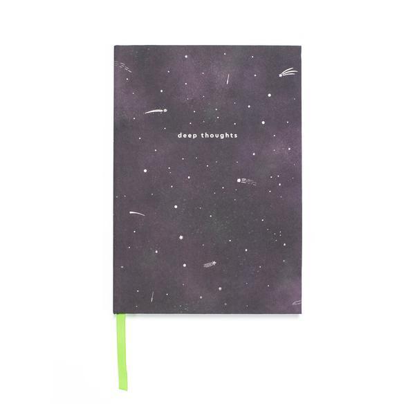 Cosmic Explorer A5 Clothbound Notebook