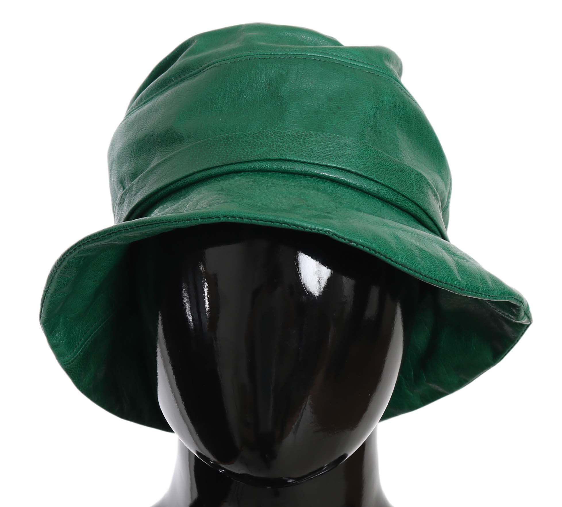 Dolce & Gabbana Men's Women's Green HAT70214 - 56 cm|XS