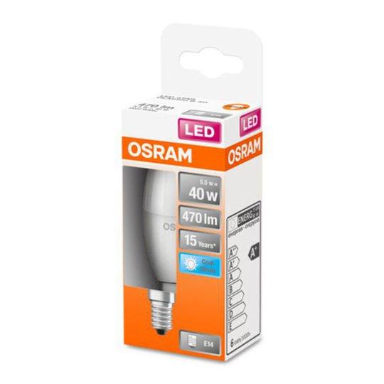 OSRAM Classic B -LED-lamppu E14 5,5W 4 000 K matta