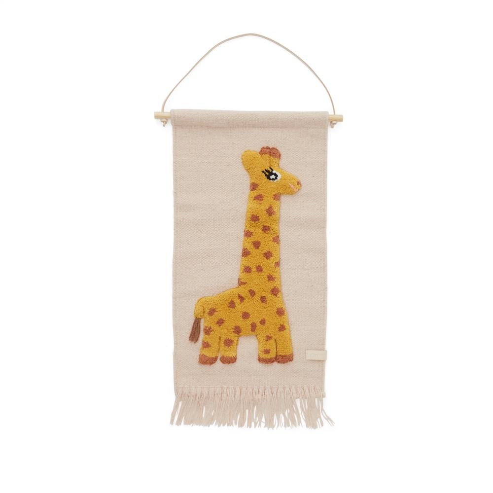 OYOY Mini - Wallhanger - Giraffe