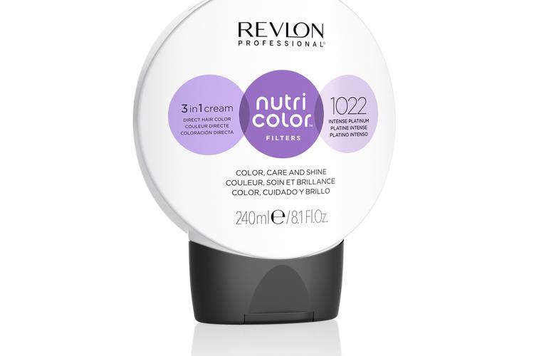Revlon - Nutri Color Filters Toning 240 ml - 1022 Intense Platinum