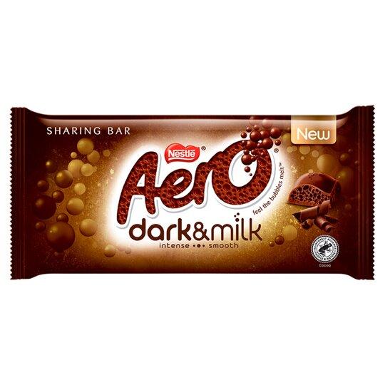 Nestle Aero Dark & Milk 90g