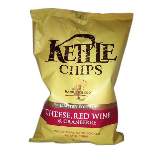 Chips, Cheese red wine & cranberry - 67% rabatt