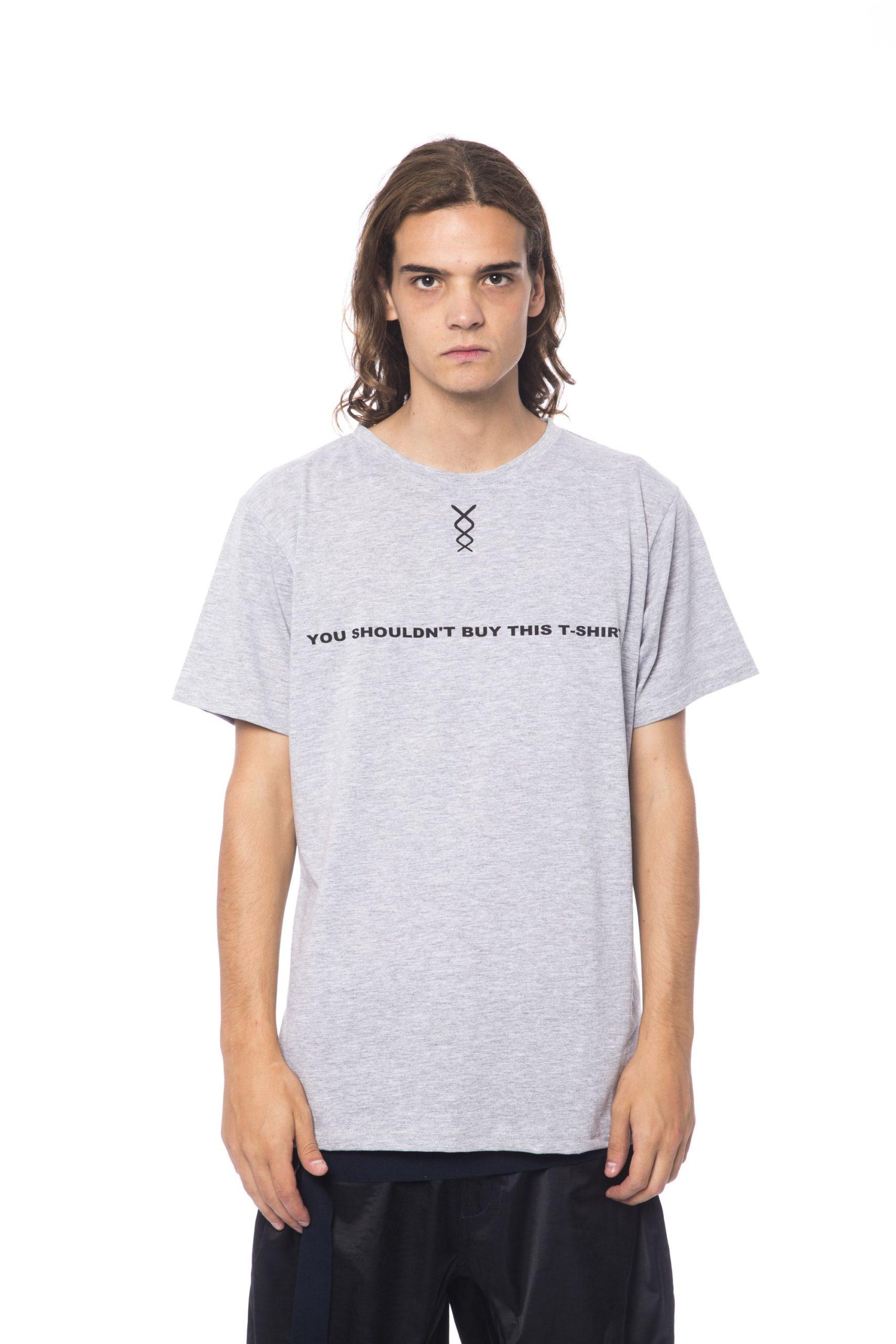 Nicolo Tonetto Men's Grigio T-Shirt Gray NI678714 - S