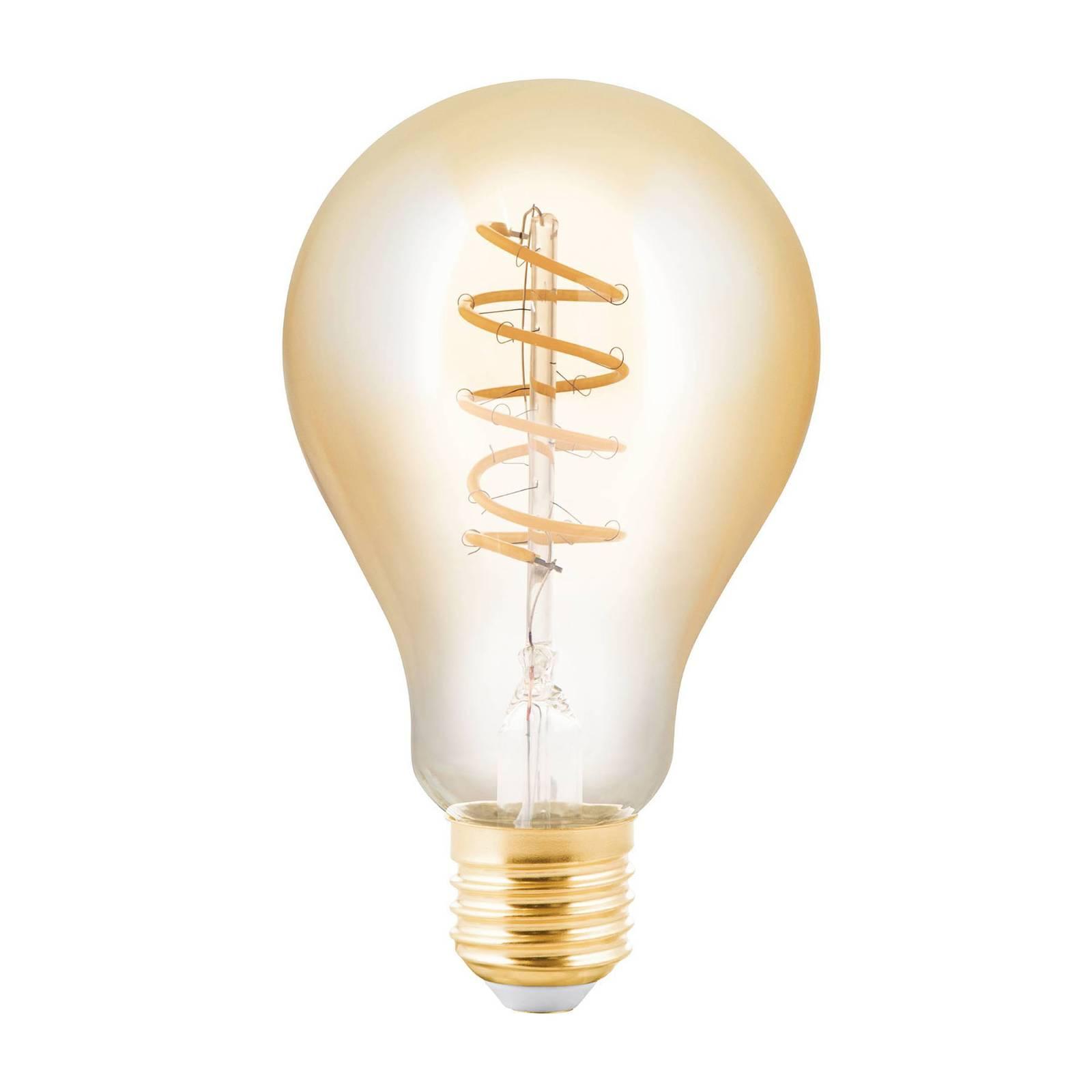 LED-lamppu E27 4W, hehkulamppu, amber