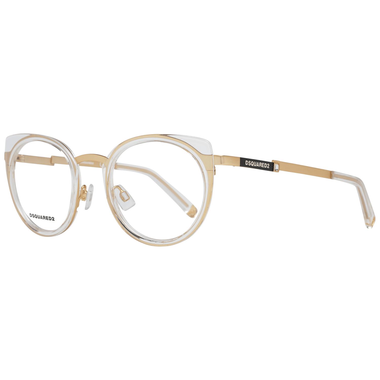 Dsquared² Women's Optical Frames Eyewear Gold DQ5302 49031