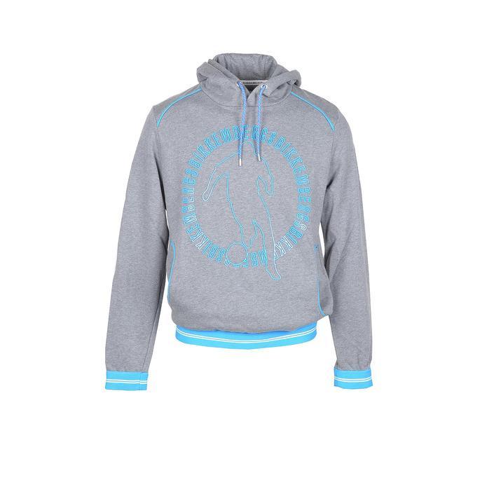 Bikkembergs Men's Sweatshirt Grey 306356 - grey XL