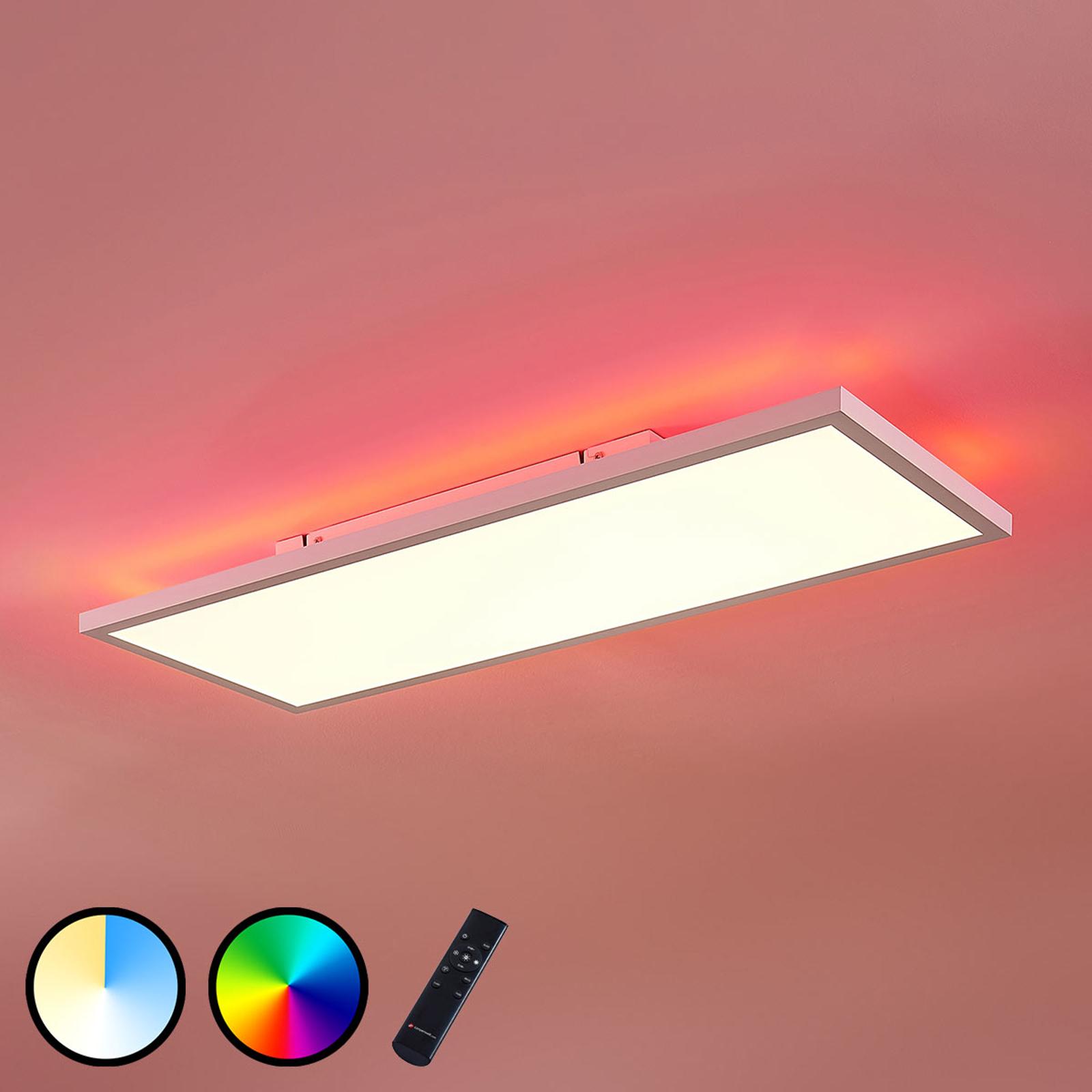 LED-paneeli Brenda CCT, kaukosäädin, 30 x 80cm